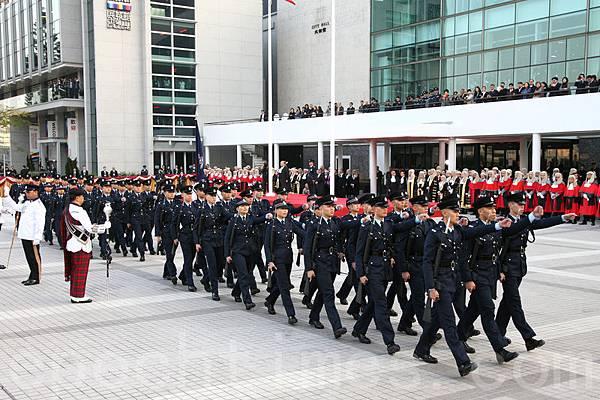 2014年香港法律年度開啟典禮。(潘在殊/大紀元)