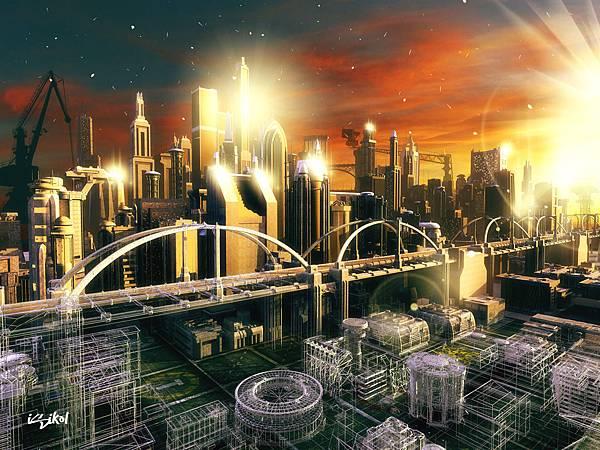 電子遊戲「模擬城市」(SimCity)的核心目標是建造一個大都市,同時不超出預算而又要讓居民高興。