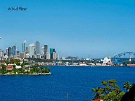 從曾偉的豪宅看雪梨歌劇院(網絡圖片)