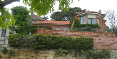 曾慶紅兒子曾偉澳洲雪梨豪宅位於半山腰。這幢豪宅據稱當時是澳洲房產交易史上第三昂貴的豪宅。(網絡圖片)