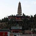 普救寺內鶯鶯塔下,以石相擊,塔內時有蛙聲相應,被列入「永濟八景」。(資料圖片)