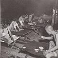 戰俘營中的病號。(網絡圖片)