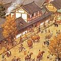 古代長安西市熱鬧景象(網絡圖片)