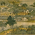 古代杭州市井圖(網絡圖片)