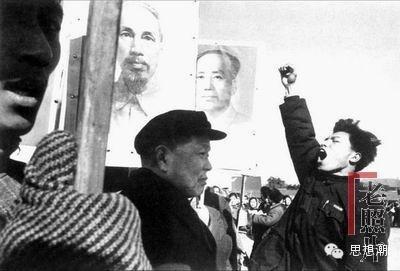 1960年北京集會遊行的場景。(網絡圖片)