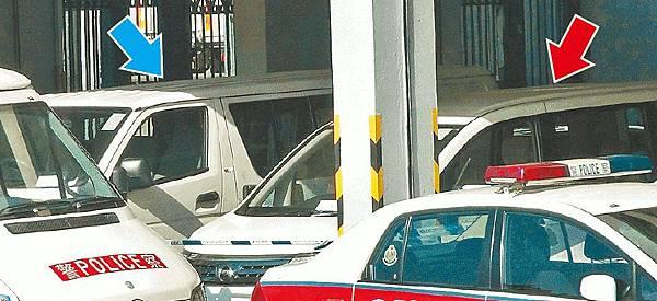 兩警車藏冰毒 女警司被問話 數十差人、疑犯助查