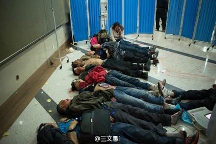 昆明血案中受害者(網絡圖片)