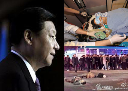 中共「兩會」前夕,先後發生香港明報前總編輯劉進圖遇刺事件和昆明殺戮事件,這二個事件震驚國際。(網絡圖片)