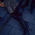 西門橋頭一開寶馬女人被砍死(微博圖片)