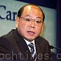 香港警務處處長曾偉雄宣佈劉進圖血案「破案」時,刻意撇清事件與大陸及新聞自由的關係,引起港人強烈質疑和不滿。(大紀元資料圖片)