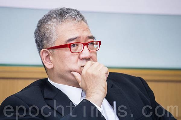 大塊文化董事長、國策顧問郝明義。(陳柏州/大紀元)