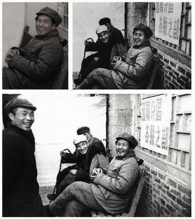 一張歷史舊照被篡改只剩下毛澤東一人。(網絡圖片)
