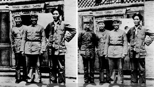1935年,博古在遵義會議上被解除中共最高領導職務。後來他就從照片上消失了。(網絡圖片)