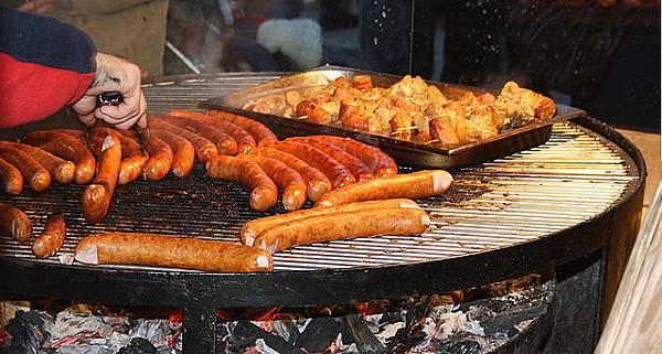 德國香腸的腸衣很多都來自中國。(Usien/維基百科)