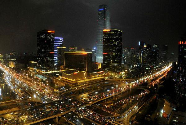 圖為北京大街滿是外國汽車品牌。(網絡圖片)