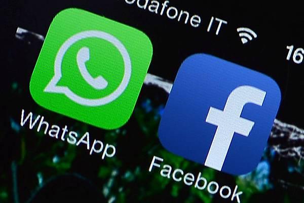今年2月被Facebook天價收購的實時通訊軟件公司WhatsApp,用戶人數已衝破5億人大關。(GABRIEL BOUYS/AFP)