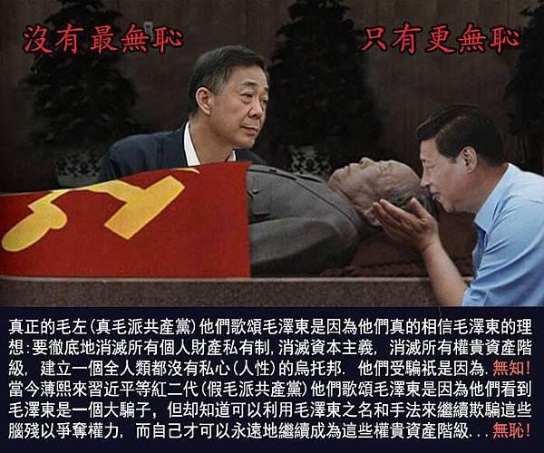 ●余杰對習近平欲立毛第二之權威有深入分析。習廢總理走向獨裁,實為百年罕見之逆行。(網上設計圖片)