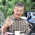中原地產創辦人施永青在港台節目《城市論壇》上,認為自由行對港經濟發展有好處。(蔡雯文/大紀元)