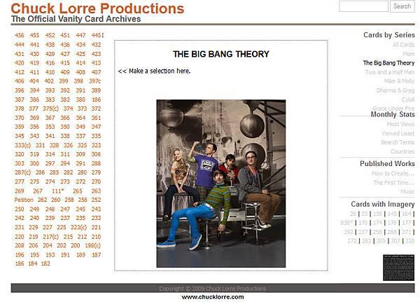 日前,遭中共當局網絡停播的《生活大爆炸》的出品人查克.洛爾(Chuck Lorre)在該劇最新一期片尾發表短文,表示「很高興美國的情景喜劇讓中國當局害怕」。圖為查克.洛爾網站截圖。(網站截圖)
