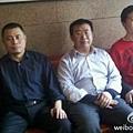 為法輪功學員辯護的四律師,均遭到當局的酷刑折磨。圖為王成、江天勇、唐吉田律師。(網絡圖片)