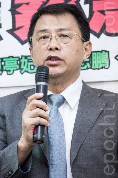 西寧台商名譽會長陳家達14日指出:「這只是一個開始,未來恐怕還會有多波攻擊。」(陳柏州/大紀元)