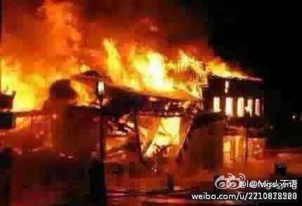 國海洋石油公司近日突入南海敏感爭議區域開採石油,引起越南爆發大規模反華示威,並脫序成針對華人的暴力事件。(網絡  圖片)
