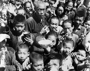 中共全國性的「大躍進」運動,最終導致了大饑荒的爆發和數千萬民眾死亡。(網絡圖片)