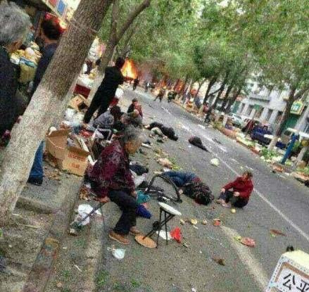 烏魯木齊大爆炸目擊者稱至少四五十人死 曝更多細節