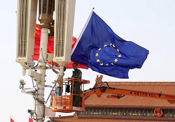 中國歐盟商會週四說,對於盈利薄弱的擔憂以及中共政府對國內競爭者的支持,令一半歐洲公司哀嘆,黃金時代已經結束。(大紀元資料室)