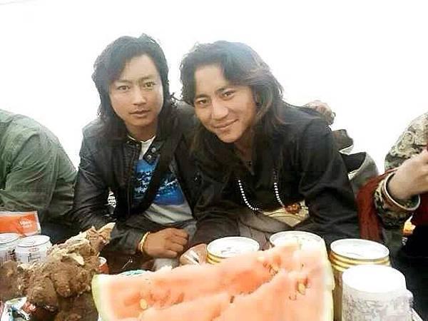 據稱,該圖片是當地藏人拍攝於格白被捕當日即2014年5月24日,地點是四川省阿壩州紅原縣。(網絡圖片)