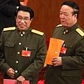 ●軍委副主席郭伯雄、徐才厚(左)皆七旬上將,已落馬待審。