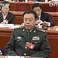 ●軍委副主席范長龍、國防部長常萬全(右)是當下權勢最大、炙手可熱的兩大軍頭。郭伯雄被囚,常萬全被查。