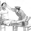 中共對法輪功學員實施的酷刑 (大紀元資料圖片)