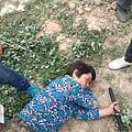 6月27日,甘肅省敦煌市政法委書記孫小強親自帶著數百警察及公務員,到肅州鎮祁家橋村三組強行徵地。(網絡圖片)