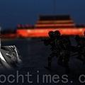 近日中共前黨魁江澤民最害怕看到的事情發生了,其軍中的心腹、前中共軍委副主席徐才厚被習近平親自拿下,軍內四總部七大軍區立即集體向習表態「效忠」,支持查處徐才厚。(大紀元合成圖片)