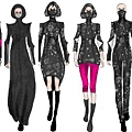 口罩可以成為時尚?總部位於北京的設計師Nina Griffee希望如此。她創造了結合Vogmask做的空氣過濾器的一系列女裝。 這個基本黑色調搭配褐色亮點的大膽設計,將於7月7日和10日之間的香港春夏時裝節上首次亮相。