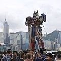 《變形金剛4》在香港舉行全球首映禮。(李真/大紀元)