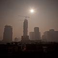 8月21日匯豐中國製造業PMI指數為50.3%,創下3個月來新低。而大陸官方公佈的7月份「李克強指數」信貸、用電量和鐵路貨運量數據也出現回落。對此,野村證券表示,中國經濟正在失去動力。(Ed Jones/AFP/Getty Images)