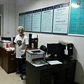 影展主辦者、「栗憲庭電影基金」創始人栗憲庭23日晚被帶至通州宋莊派出所扣押三小時。(微博圖片)