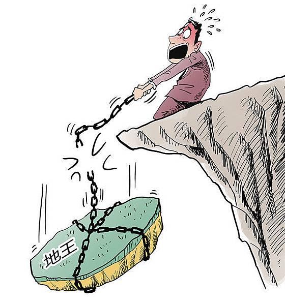 2018年大陸房企有4000億人民幣債務到期,房企資金鏈堪憂,南京昔日「地王」南京京奧港未來墅已停工。大陸民營企業家建議及早賣掉多餘 房子。(AFP)