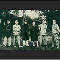 1931年11月7日,瑞金,蘇區中央局部分委員合影,右二為時任中央局代理書記的毛澤東。(資料圖片)