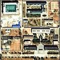《秦城國史——中共第一監獄史話》封底──秦城監獄鳥瞰圖。