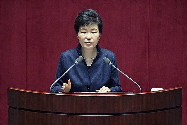 韓國總統朴槿惠警告,如果北韓不放棄核武項目,北韓將面臨崩潰。(Getty Images)
