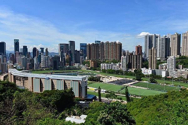 香港跑馬地遠景(郭威利/大紀元)