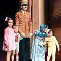 希特勒1939年50歲的照片。