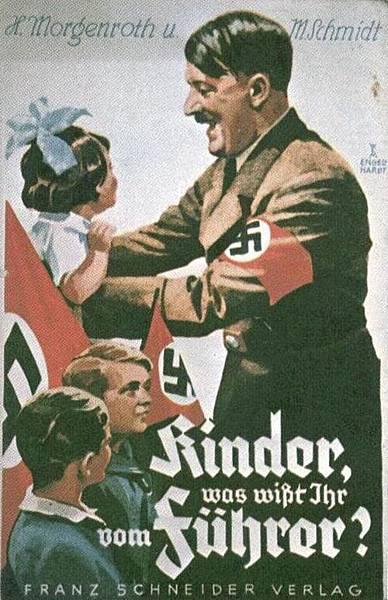 希特勒上台後的官方宣傳畫。