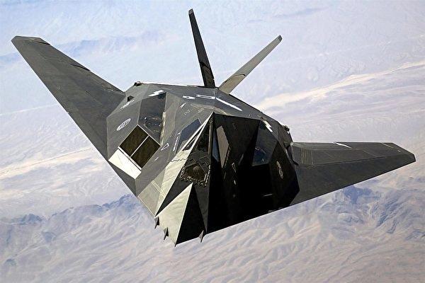 美國空軍的F-117隱形戰機。(維基百科)