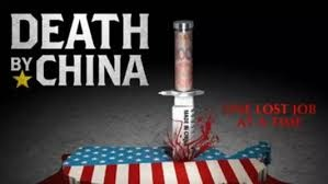 《致命中國》是一本2011年美國出版的政經類書籍,英文原名很長: Death by China:Confronting the Dragon – A Global Call toAction(副標題是號召全球對付中國龍)。