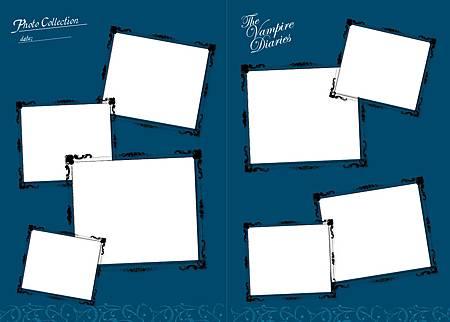 吸血鬼日記1贈品內頁2