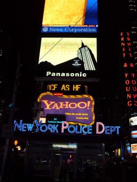 紐約的夜景